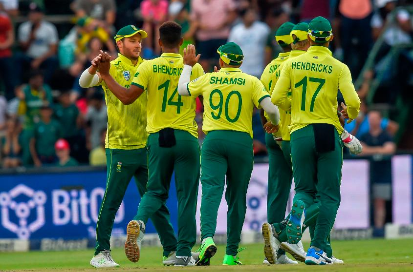 South Africa claimed the series with their victory