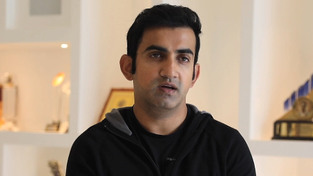 Gautam Gambhir on his India career