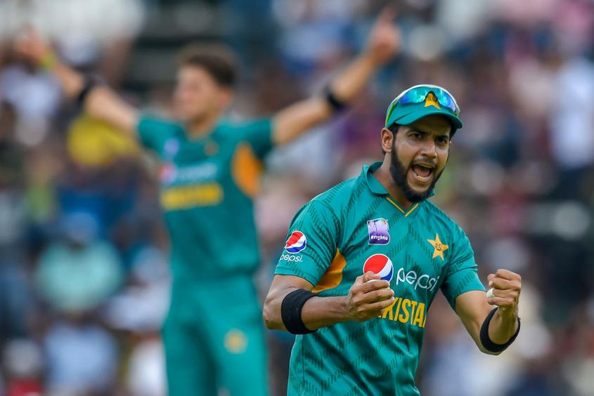 Imad Wasim finished with impressive figures of 1/19