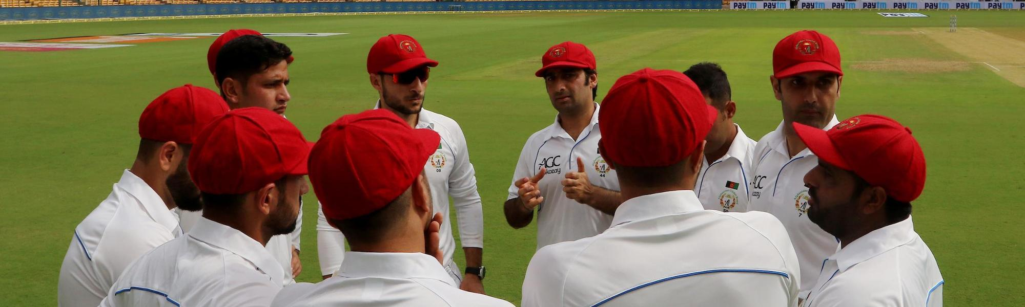 Afghanistan's first taste of Test cricket was tough but this is just the start