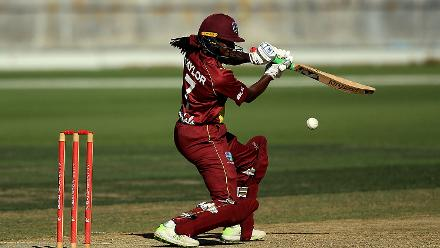 Stafanie Taylor hit 58 for the Windies