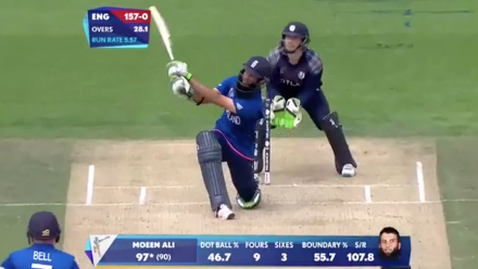 CWC15 ENG v SCO - England innings highlights