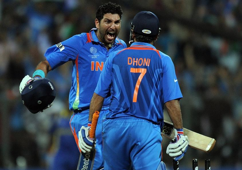 Yuvraj Singh was Player of the Tournament at the 2011 ICC Cricket World Cup
