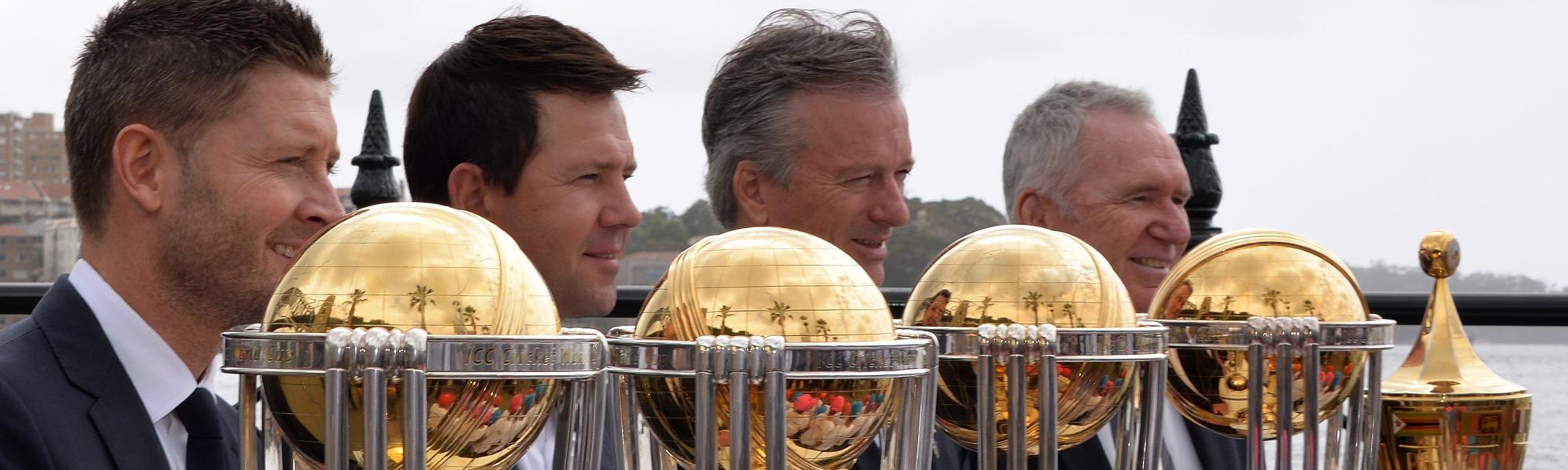 Australia World Cup captains
