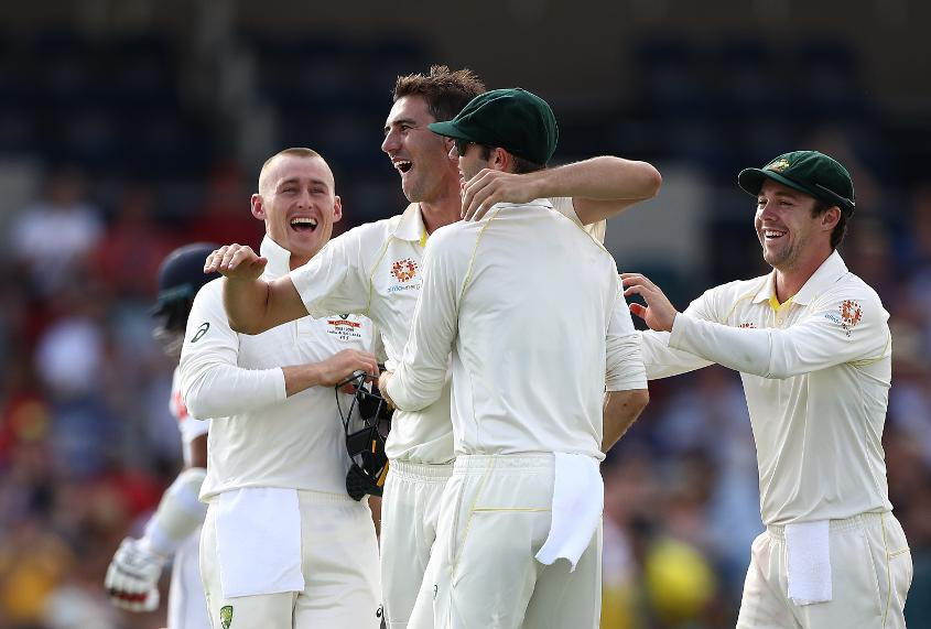 Cummins was named Player of the Series in the Test series against Sri Lanka, which Australia won 2-0 at home