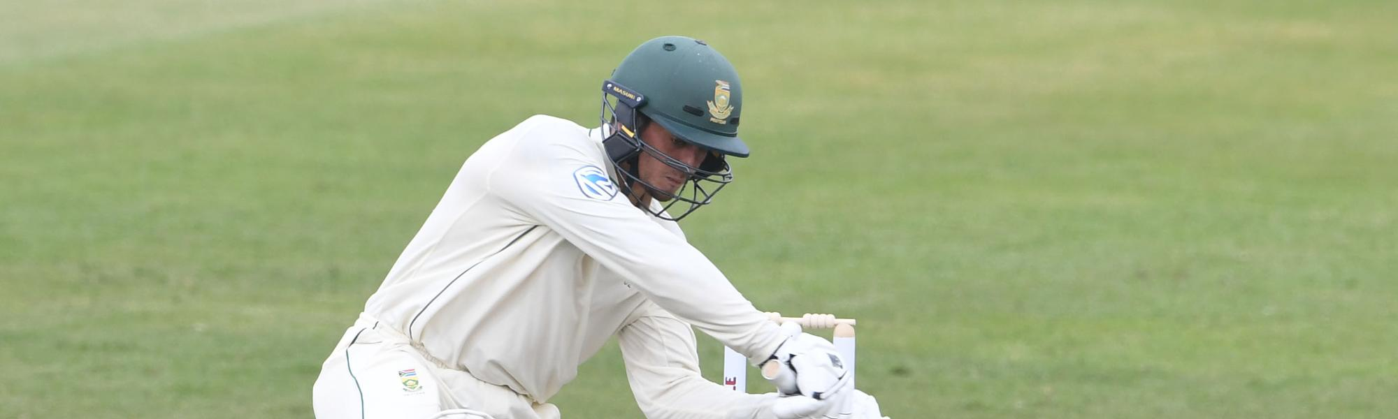 De Kock hit eight fours and one six in his 94-ball stay at the crease