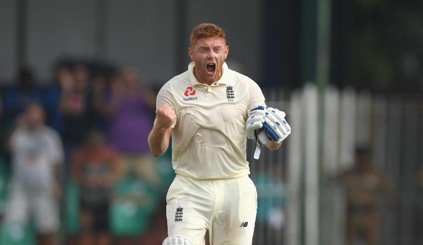 Bairstow made a hundred at No.3 in Sri Lanka
