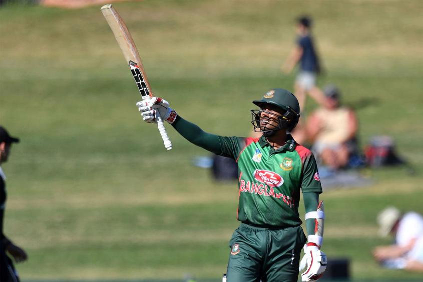 Mohammad Mithun's half-century rescued Bangladesh from a tight spot