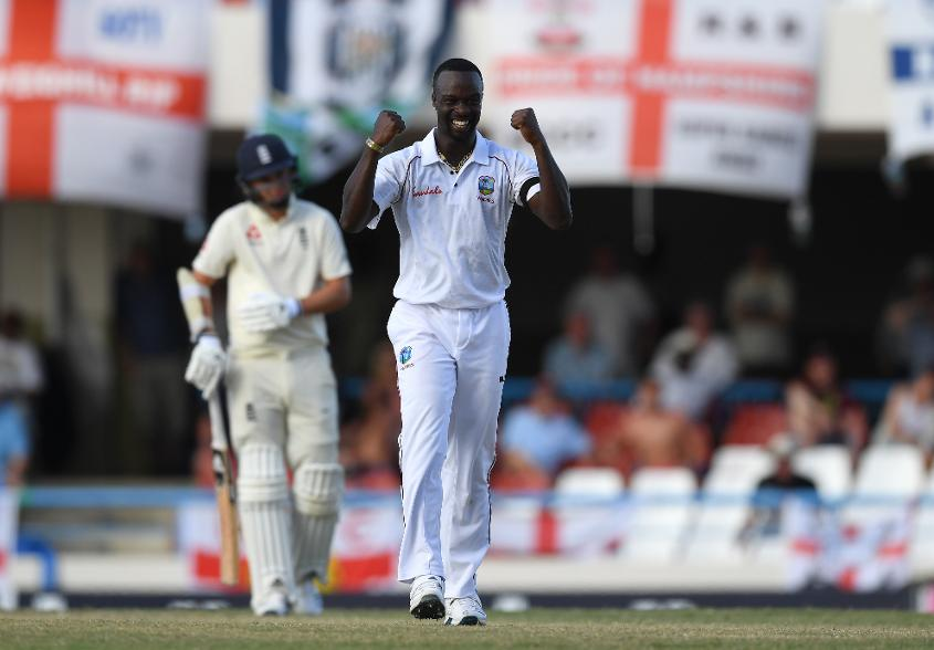 Windies' Kemar Roach was the leading wicket-taker across both sides in the series with England