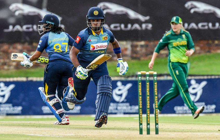 Chamari Athapaththu got Sri Lanka off to a fast start