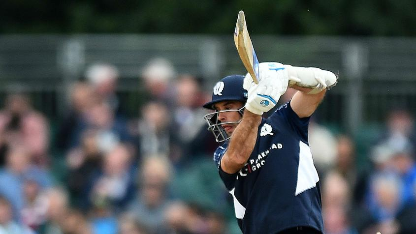 Kyle Coetzer's 38-ball 74 was vital in Scotland's successful chase