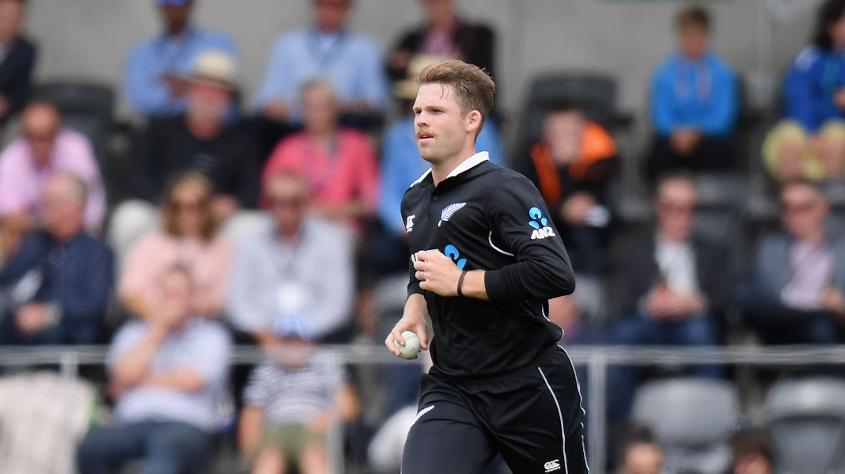Lockie Ferguson was the pick of the New Zealand bowlers, picking up three wickets