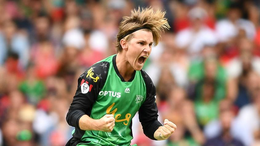 Adam Zampa bowled an excellent spell of 2/21