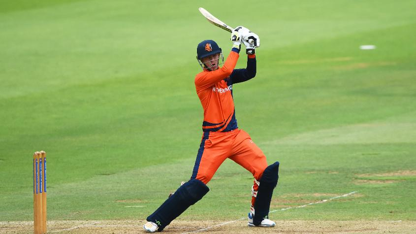 Visee top-scored for the Netherlands with a 36-ball 78