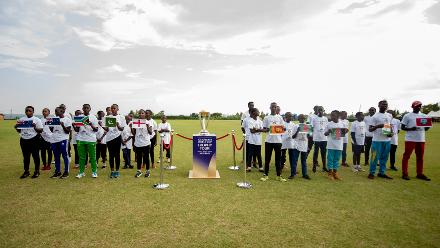 ICC CWC Trophy Tour driven by Nissan reaches Rwanda