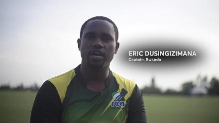 The Cricket World Cup Trophy Tour hits Rwanda