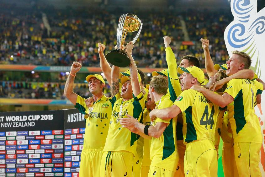 Australia triumphed in the last edition of the ICC Men's Cricket World Cup