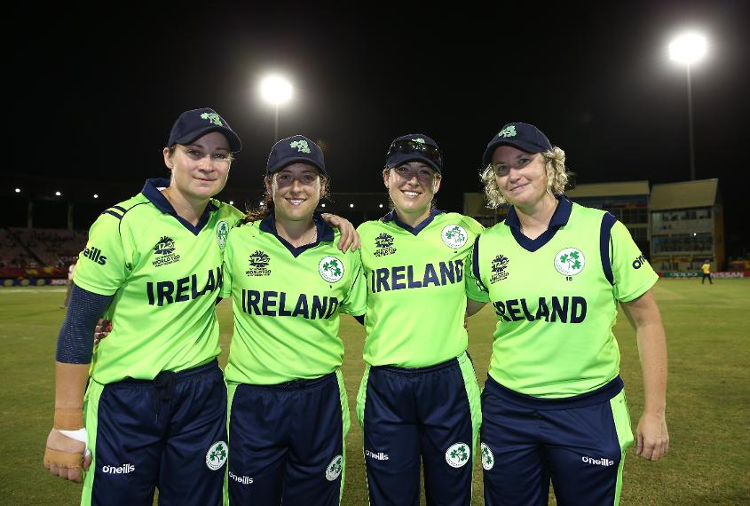 Four members of Ireland's side retired in 2018 – from left to right: Clare Shillington, Isobel Joyce, Cecelia Joyce, Ciara Metcalfe