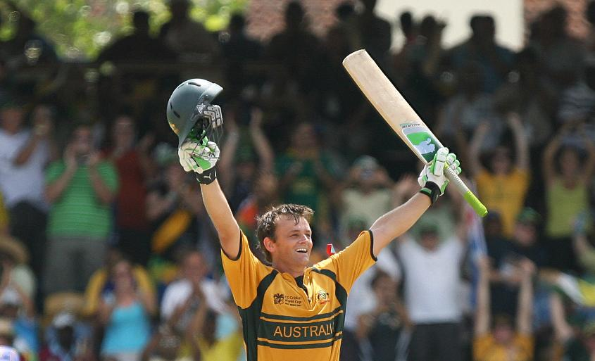 Adam Gilchrist's 149 is the highest score in a World Cup final