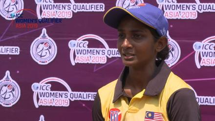 ICC Women's Qualifier – Asia 2019: Malaysia captain Winifred Anne Duraisingam speaks after victory against Kuwait