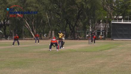 ICC Women's Qualifier – Asia 2019: Malaysia batter Siow Tzin Yee hits 42* off 40 against Kuwait