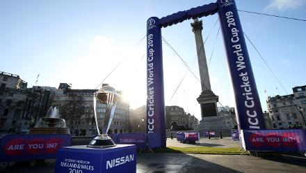 ICC CWC Trophy Tour driven by Nissan commences 100-day tour of England and Wales