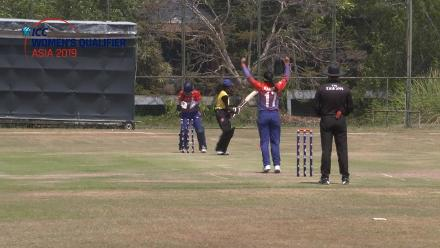 ICC Women's Asia Qualifier 2019: Nepal spinner Karuna Bhandari returned 2/14 against Malaysia