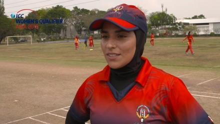 ICC Women's Asia Qualifier 2019: Kuwait v China pre-match interviews
