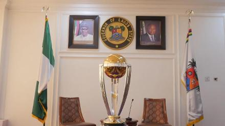 ICC Cricket World Cup 2019 trophy visits Nigeria