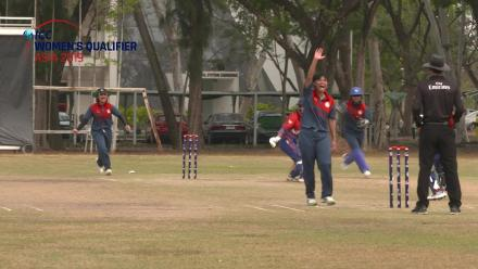 ICC Women's Asia Qualifier 2019: Thailand v Nepal match highlights