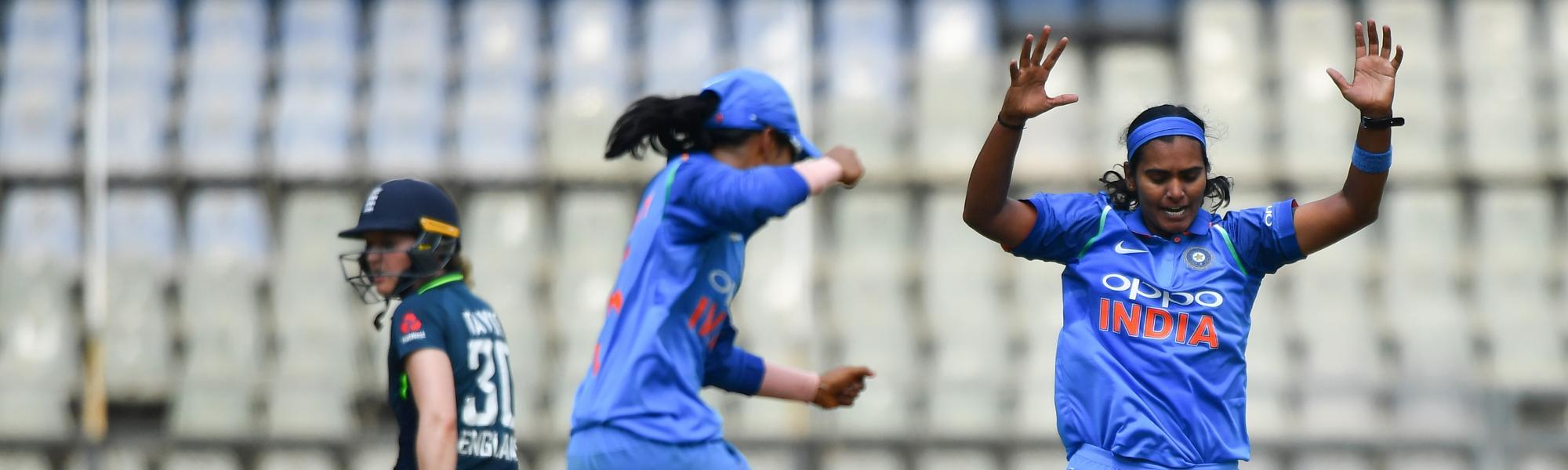 India v England Shikha - Photo: AFP