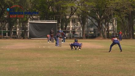 ICC Women's Asia Qualifier 2019: Thailand v Nepal – opener Naruemol Chaiwai gives Thailand a promising start