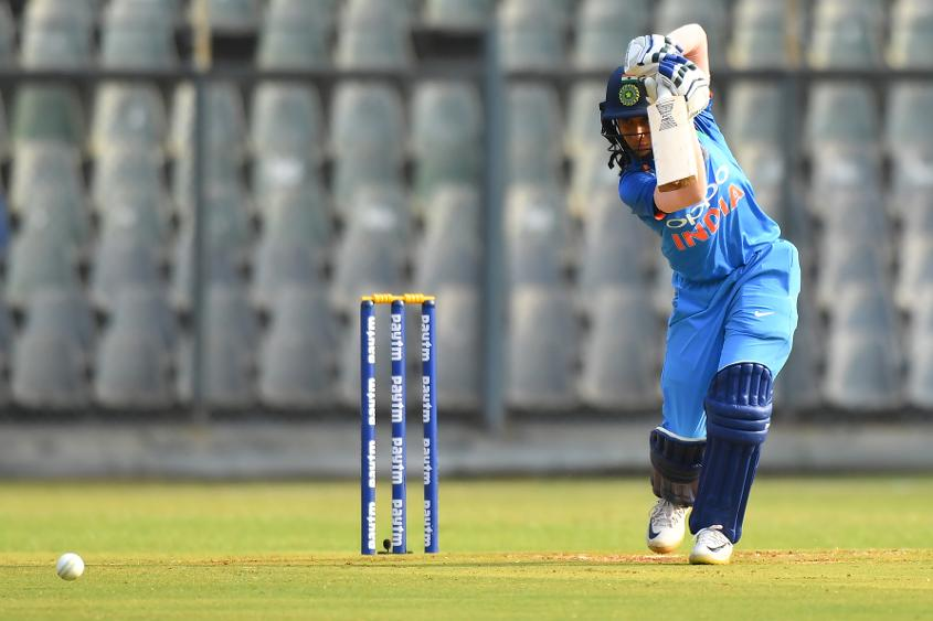 Jemimah Rodrigues top-scored for India in front of her home crowd. – Photo: AFP