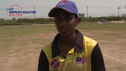 ICC Women's Asia Qualifier 2019: China v Malaysia – Toss and captains interviews