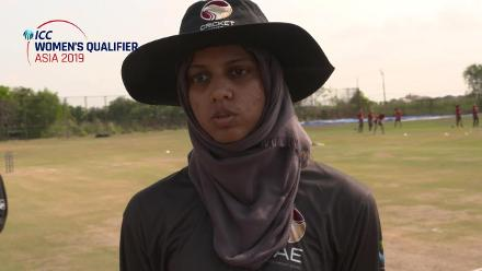 ICC Women's Asia Qualifier 2019: UAE v Nepal – Toss and captains interviews