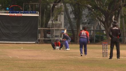 ICC Women's Asia Qualifier 2019: Thailand v Nepal – POM performance from Chanida Sutthiruang (35 runs; 1/13)