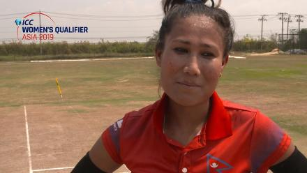 ICC Women's Asia Qualifier 2019: China v Nepal – Toss and captains interviews