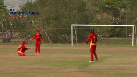 ICC Women's Asia Qualifier 2019: China v Nepal –  Two wickets in two balls for China's Wang Meng