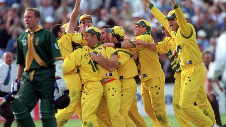 And of course, who can forget the classic semi-final between Australia and South Africa?