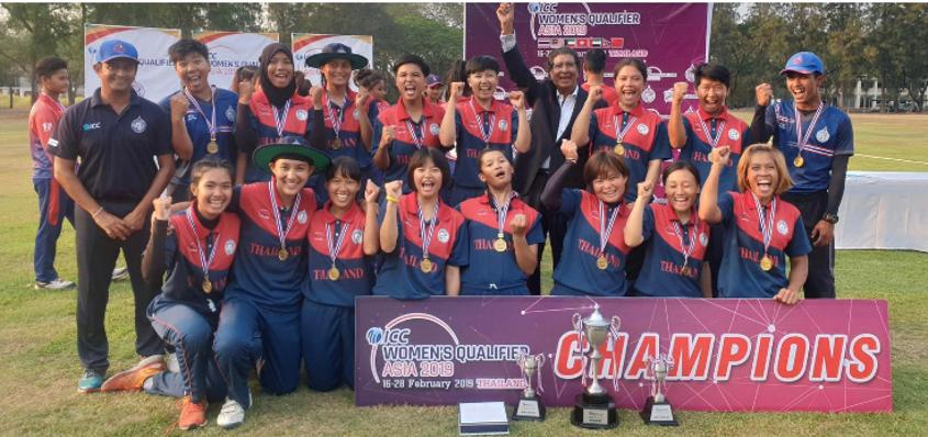 Thailand were crowned champions