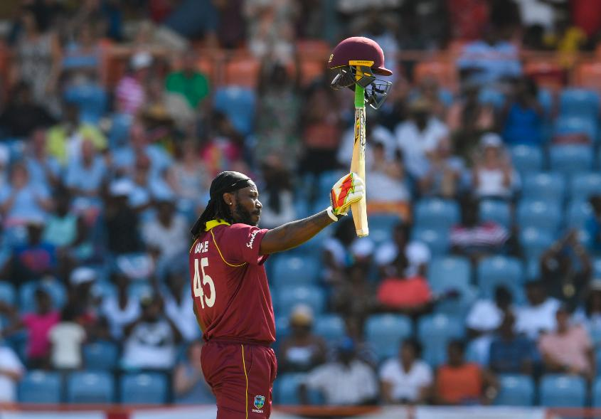 Chris Gayle made his fastest ODI century