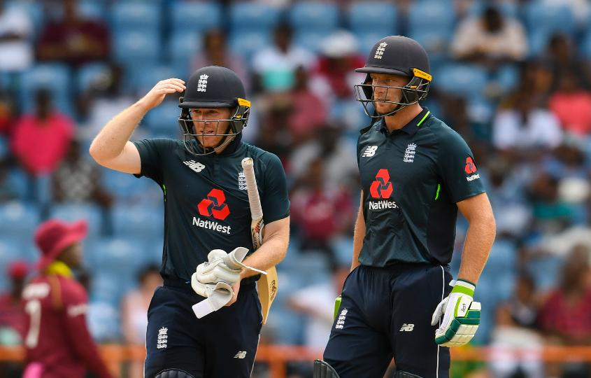 Eoin Morgan and Jos Buttler put on a double-century stand
