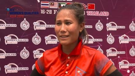 ICC Women's Asia Qualifier 2019: Nepal captain Rubina Chhetry reflects on victory against Kuwait