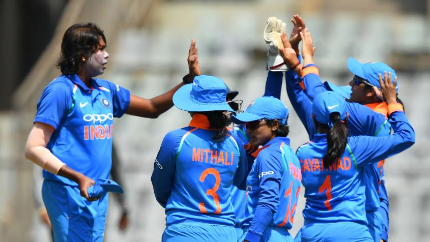 Jhulan Goswami was lethal with the new ball, scalping three early wickets to leave England in a spot of bother. – Photo: AFP