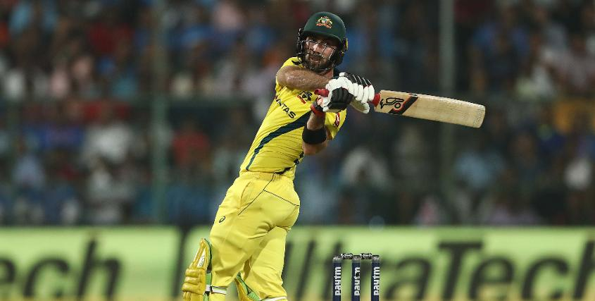 Glenn Maxwell blasted his third T20I hundred - an Australian record