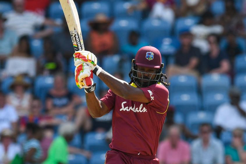 Chris Gayle became the second West Indian to 10,000 ODI runs