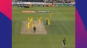 CWC Greatest Moments: Chaotic run out eliminates South Africa