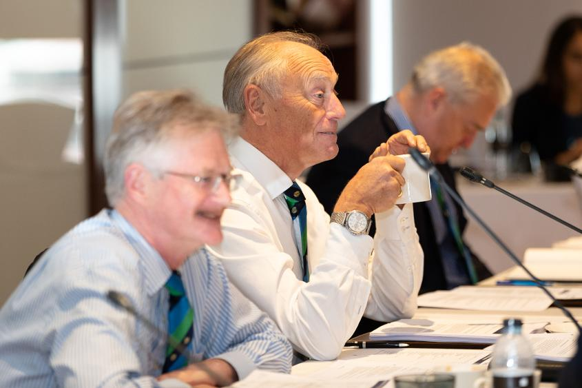 The Board moved to reassure Members around security ahead of the ICC Men's Cricket World Cup