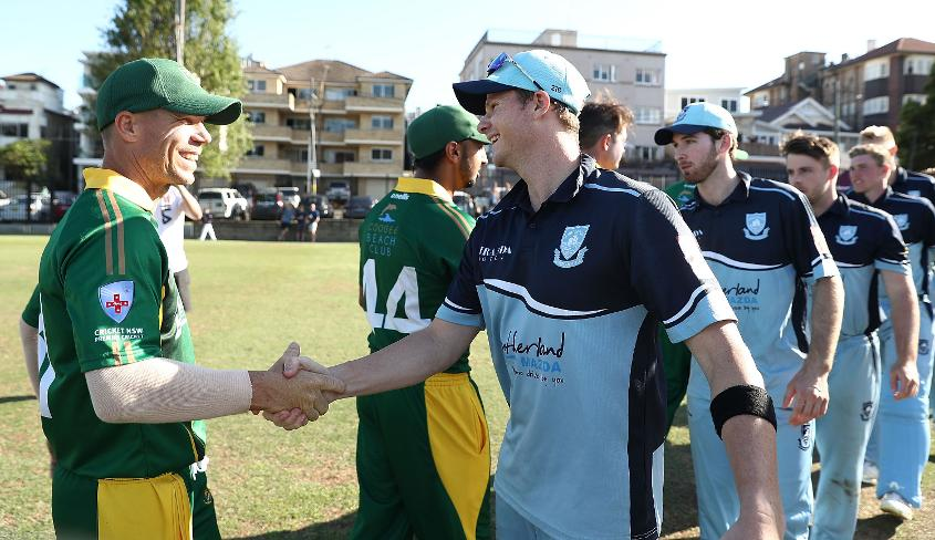 Steven Smith and David Warner played against each other in a Sydney Grade Cricket match in November 2018