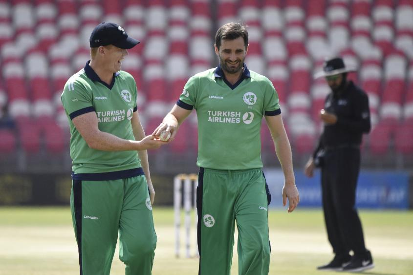 Tim Murtagh claimed two wickets, one via a run out